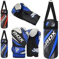RDX Kids Punch Bag Junior Filled Boxing Heavy MMA Kickboxing Training Gloves 2FT