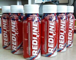 VPX Redline Xtreme Ultimate Energy Rush Drink 8 fl oz 6 Bottles (Triple Berry)
