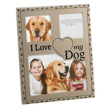 I Love My Dog Photo Frame -  Pet Photo Frame Best Friend Gift Present Dog Lover