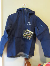 Mens New Arcteryx Alpha SV Jacket Size Small Color Inkwell