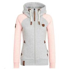 Women's Hooded Parka Trench Jacket Coat Outwear Slim Long Overcoat Winter Warm