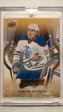 CONNOR MCDAVID 16-17 MVP GOLD SCRIPT SERIAL 19 / 135 - EXCLUSIVE CARD