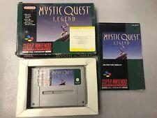 Mystic Quest legend SNES Super Nintendo