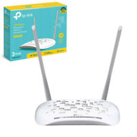 TP-Link TD-W8961N Modem Router 300 Mbps WirelessN ADSL2+ WiFi White 4Port Switch