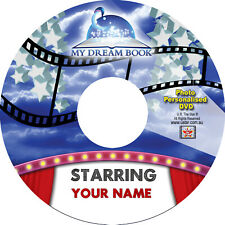 My Dream Book Personalised Movie starring YOU! DVD or DIGITAL DOWNLOAD DELIVERY