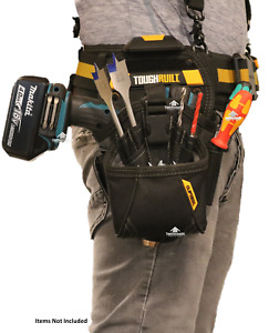 ToughBuilt TB-CT-20-LX Drill Holster Specialist Belt Clip Pouch 15 Pocket Loops