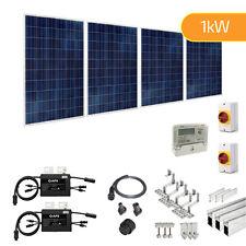 1KW 1000W Solar PV Developer Kit for Part L - Roof Mount System for New Builds