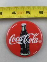 Vintage COCA COLA Advertising pin button pinback *EE94