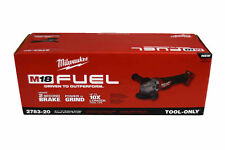 Milwaukee 2783-20 M18 FUEL 18V Cordless 4-1/2 in - 5 in Braking Angle Grinder