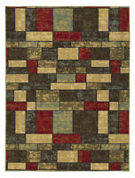 Geometric Area Rug Runner Floor Carpet Indoor Home Decor Multicolor Modern 5x6