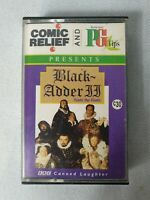 Audio Cassette Black Adder Comic Relief  Pg Tips  1993 comedy funny classic
