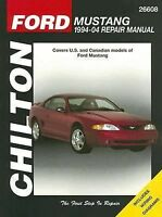 Ford Mustang 1994-04 Repair Manual : Covers U. S. and Canadian Models of Ford Mu
