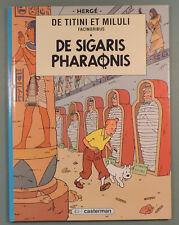 Tintin en Latin Cigares du Pharaon Herge editions Casterman 1990