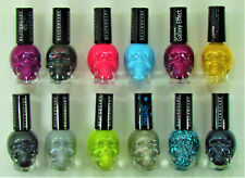 Black Heart Beauty Nail Polish Skull Bottle New 12 Colors You Pick Your Color