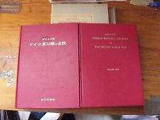 $$$ Livre en anglais + japonaisGerman Military Aircraft in WW2Doitsu Gunyoki