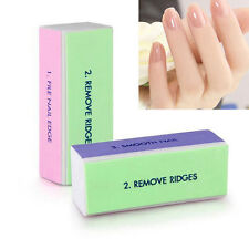 1PC Nail Art Shiner Buffer Buffing Block Sanding File Manicure Dull Polish Tips