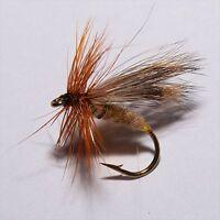 WALKERS SEDGE Dry Fly Fishing flies Caddis deer hair by Dragonflies