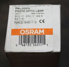 Osram Halogen photo optic lamp 600W 230V G 9.5 NEW