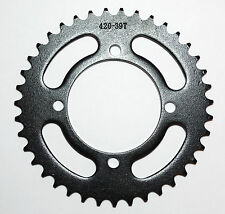 420 39T Rear Sprocket Quad ATV Pit Bike 110 125 Coolster Taotao Roketa SDG SSR