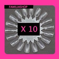 10 Display Nuancier Présentoir Vernis Ongles Transparent Nail Art Manucure