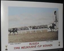 RUSSIA 1946 Melbourne Cup Print