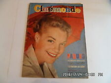 CINEMONDE N°1232 20/3/1958 ROMY SCHNEIDER D.KERR G.KERVINE I.BERGMAN BARDOT   K6
