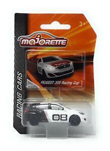 Majorette Racing Serie Model Car metal Peugeot 308 Racing Cup 1/58