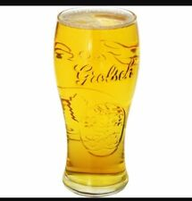 Grolsch Lager/Weissbeer Pint Glass Collectable Pint & Beer Glasses