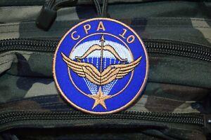 Z742 écusson insigne patch militaire armée COMMANDOS PARACHUTISTE AIR CPA 10