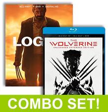 Logan (Blu-Ray, DVD, Digital + NOIR) + Wolverine (Blu-Ray 3D, Blu-Ray, Digital)