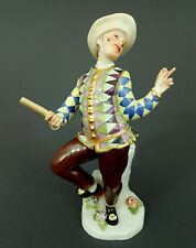 Meissen Figur, Harlekin aus der Commedia dell'Arte, Mod. 237, Kaendler,