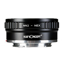 Lens Adapter Ring M42-NEX Ⅱ for Copper M42 Screw Mount Lens to Sony NEX Camera
