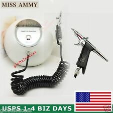 Oxygen Injection Spray Gun Water Jet Skin Care High Pressure Machine Painless US