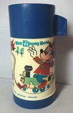 Vintage Old Walt Disney World Aladdin Thermos Drink Flask 1970's