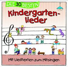 Sommerland,Simone - Die 30 besten Kindergartenlieder - Mit Liedtexten zum Mitsin