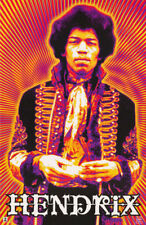 LOT OF 2 POSTERS : MUSIC : JIMI HENDRIX - POSED    FREE SHIPPING !  #3550  LC6 C