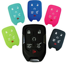 Chevrolet Tahoe Suburban Keyless Entry Key Fob Silicone Rubber Remote Cover 2020