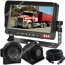 "Truck Reversing Camera System With 7"" Digital Screen Monitor CCD Backup Camera"