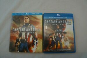 Captain America: The First Avenger w/Comic Book Cover Slipcover (Blu/DVD) #1
