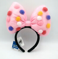 Bow Disneyland Mickey Mouse Balloons Disney Parks Pink Minnie Ears Headband