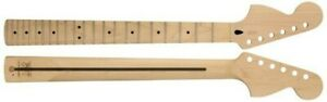 NEW Mighty Mite Fender Lic Stratocaster Strat NECK Reverse HS MM2935-CR-RH-M