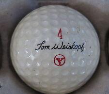 (1) TOM WEISKOPF SIGNATURE LOGO GOLF BALL ( MACGREGOR CIR 1967 / 1968) #4