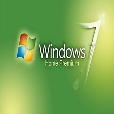 original windows 7 HOME PREMIUM 32/64- bit OEM Licencia Llave Chatarra PC
