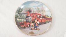 Lmtd Ed #'d Bradford Exchange Disney 1955-1995 Disneyland Railroad Mickey Plate