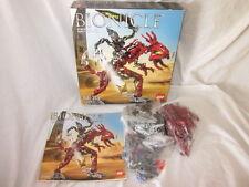 Lego Bionicle 8990 FERO & SKIRMAX Figures Glatorian + Instructions Box Complete