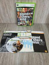 ~ Grand Theft Auto IV Xbox 360 2008 GTA 4 + MAP COMPLETE