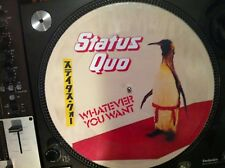 "Status Quo - Whatever you want Mega Rare 12"" Picture Disc Promo Single LP JAPAN"