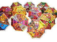 Wholesale Lot of 20Pcs Traditional Indian Vintage Parasols Decortive Umbrellas
