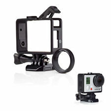 Mount Standard Protective Housing The Frame For GoPro Hero 3/4/3+ & UV Protector