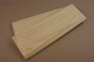 2x 50cm Wooden PLAQUE HANGING WALL DOOR Plain SIGN HOME Blank ROOM (X93-LONG)